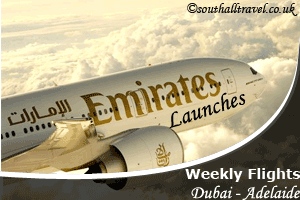 Emirates Launches New Flights Connecting Dubai & Adelaide