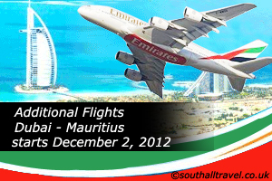Emirates to Add Two Extra Flights between Dubai and Mauritius