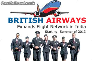 British Airways Expands Flight Network in India