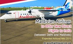 Maldivian to Commence Maldives Delhi Flights