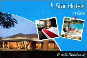More 5 Star Hotels in Goa for Tourists