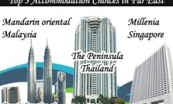 Top 3 Accommodation Choices in Far East Destinations