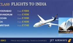 Jet Airways' Business Class Fare Sale!