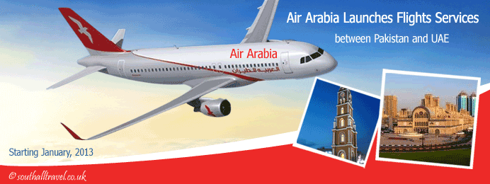 Air Arabia Launches Flights Services to Sialkot Pakistan
