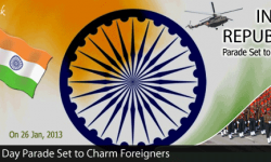 India's Republic Day Parade Set to Charm Foreigners