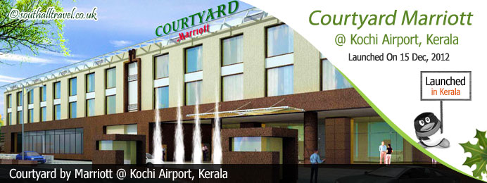 Courtyard by Marriott, Kochi Airport Launched in Kerala India