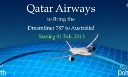 Qatar to Bring the Dreamliner 787 to Australia