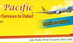 Cebu Pacific All Set To Launch Direct Daily Flights to Dubai