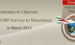 Emirates to Operate Special A380 Service to Mauritius