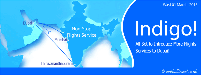 Indigo All Set to Introduce More Flights Services to Dubai