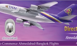 Thai Airways to Commence Ahmedabad - Bangkok Flights