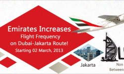 Emirates Increases Flight Frequency on Dubai - Jakarta Route