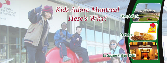 kids adore montreal