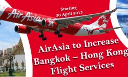 AirAsia to Increase Bangkok–Hong Kong Flight Services
