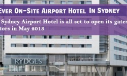 First Ever On-Site Airport Hotel to Open In Sydney