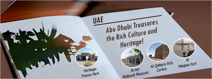 Abu Dhabi treasures the rich culture and heritage