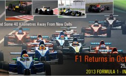 **Featured Article** – Formula 1 India: F1 Returns in October 2013