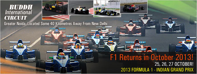 Formula 1 India F1 Returns in October 2013