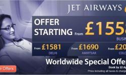 Jet Airways' Worldwide Special Offer!!
