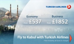 Turkish Airlines' Special Fares To Kabul!! Explore The Unexplored!!!
