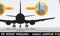 SpiceJet to Start Madurai - Kuala Lumpur Flight
