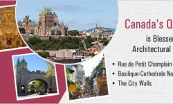 Canada's Quebec City is Blessed with Architectural Splendour