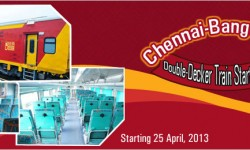 Chennai-Bangalore AC Double-Decker Train Starts Operations