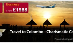 Oman Air's Special Fares To Colombo!!!