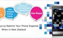 Useful Ways to Restrict Your Phone Expense When in New Zealand