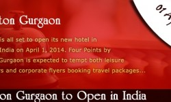 Four Points by Sheraton Gurgaon to Open in India in April 2014