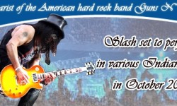 Slash Set To Tour India in October 2013