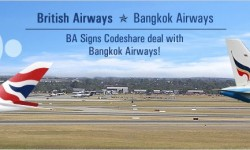 BA Signs Codeshare deal with Bangkok Airways