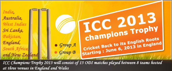 Featured Article** – ICC Champions Trophy 2013: Cricket Back