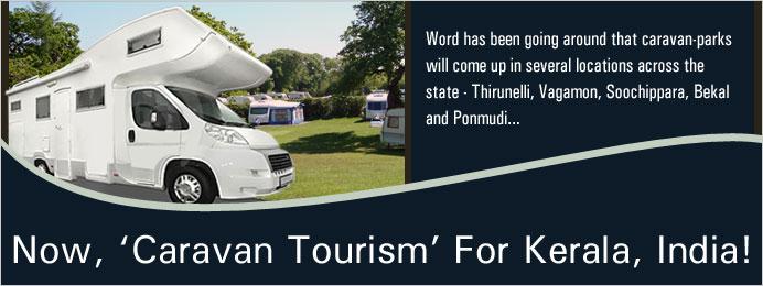 Caravan tourism kerala India