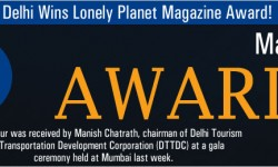 Delhi Wins Lonely Planet Magazine Award
