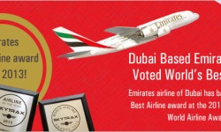 Dubai Based Emirates Airline Voted World's Best Airline