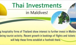 Increased tourism to promote Thai investments in Maldives