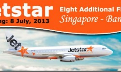 Jetstar to Add Services between Singapore and Bangkok