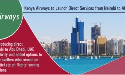 Kenya Airways to Launch Direct Services to Abu Dhabi