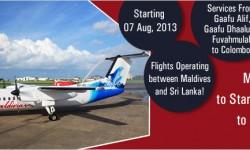 Maldivian to Start New Flights to Colombo