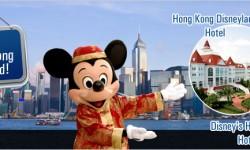 Hotels at Hong Kong Disneyland