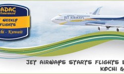 Jet Airways Starts Flights between Kochi AND Kuwait