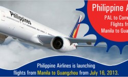 Philippines Airlines(PAL) to Commence Flights - Manila to Guangzhou
