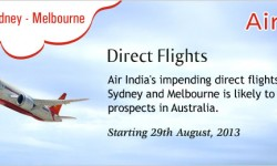 Direct Australia Flights from India to Boost Australian Tourism