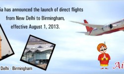 Air India to Launch Direct Services to Birmingham from Delhi