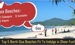 Top 5 North Goa Beaches Fit To Indulge in Sheer Fun