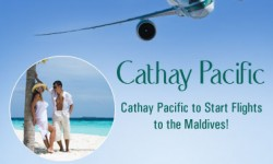 Cathay Pacific to Start Flights to the Maldives