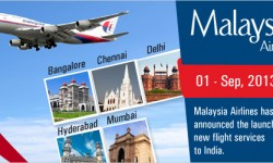 Malaysia Airlines Adds Kochi Flights to its India Network