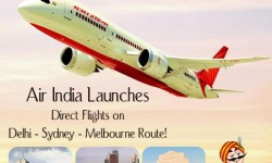 Air India Launches Direct Flights on Delhi - Sydney - Melbourne Route