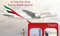 Emirates to Start Non-Stop Boston-Dubai Service